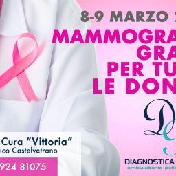 8 e 9 marzo | Mammografia gratis a Castelvetrano